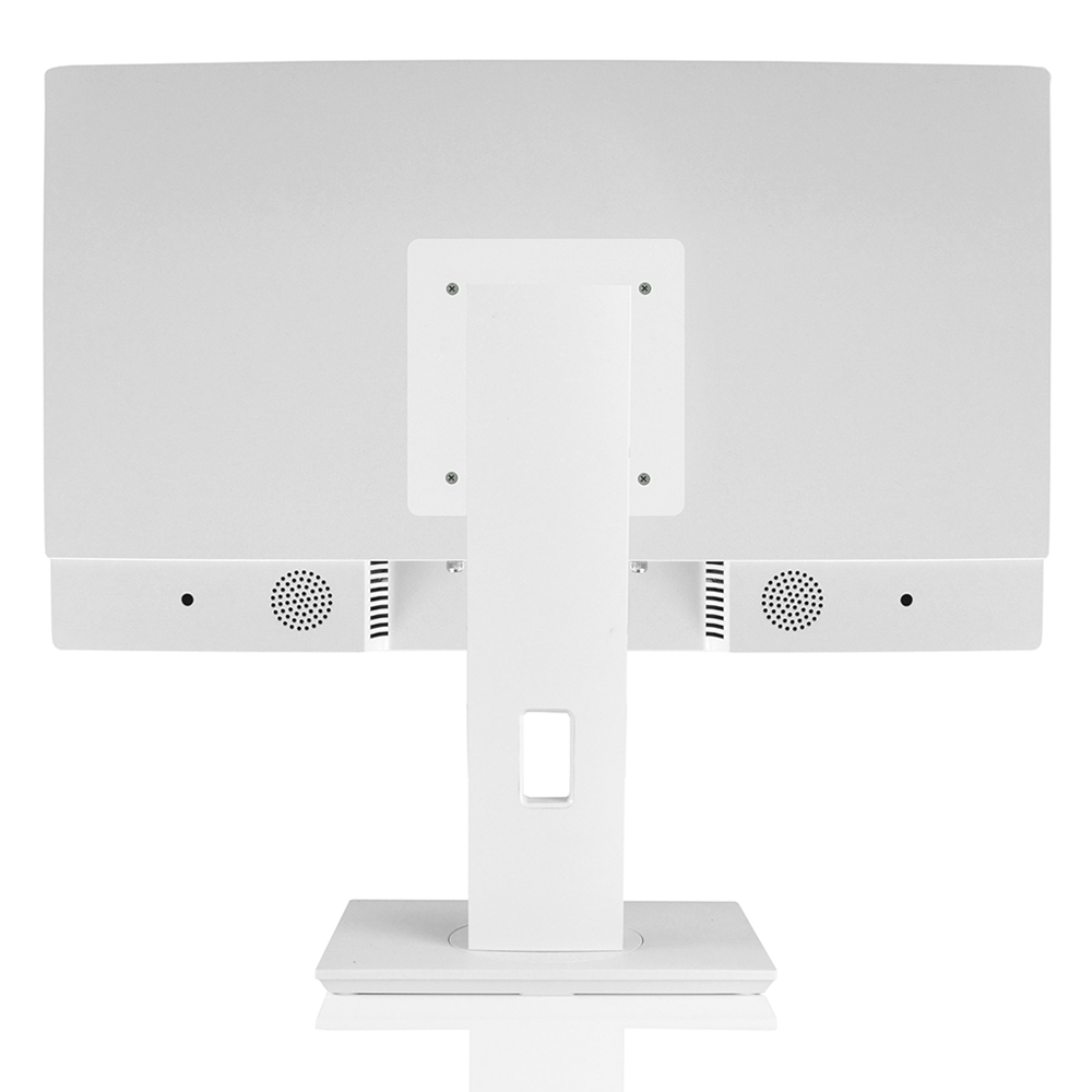 Computador All In One Concórdia Core I5 10400 8gb Ddr4 Ssd 480gb  23.8'' Full Hd Webcam Wifi Branco