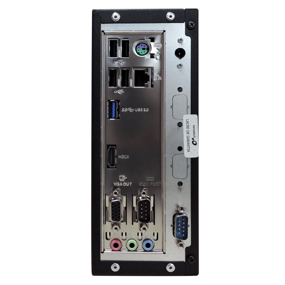Computador Bematech Rc 8400 Zion Celeron J1800 Memória 8gb Ddr3 Ssd 120gb 2 Seriais Sistema Windows 10 Pro