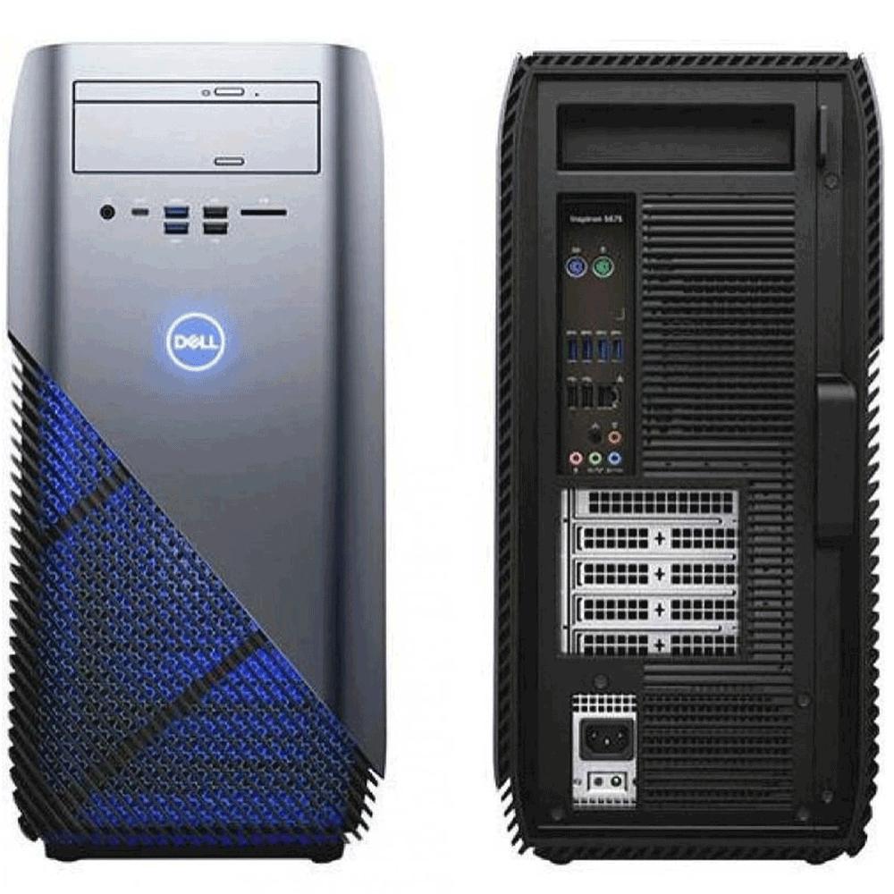 Computador Dell Inspiron 5680 I3-8100 Memória 8gb Hd 1tb Placa De Vídeo Gtx 1050 Wifi Bluetooth Windows 10 Home