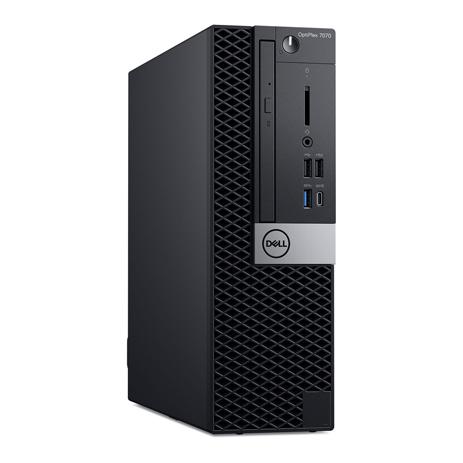 Computador Dell Optiplex 7070 Sff Core I5-9500 Memoria 8gb Hd 500gb Dvd Sistema Windows 10 Pro