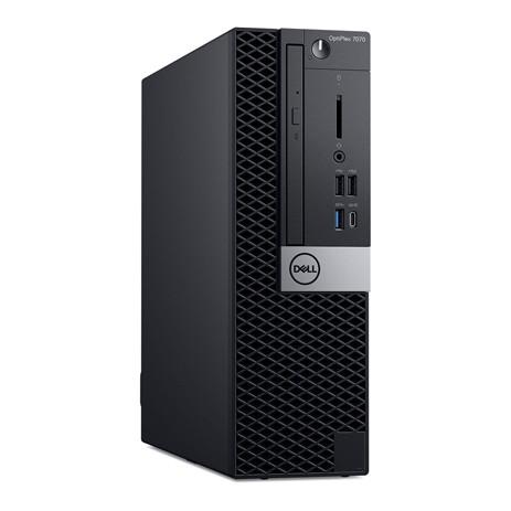 Computador Dell Optiplex 7070 Sff Core I7-9700 Memoria 16gb Ssd 512gb Dvd Sistema Windows 10 Pro