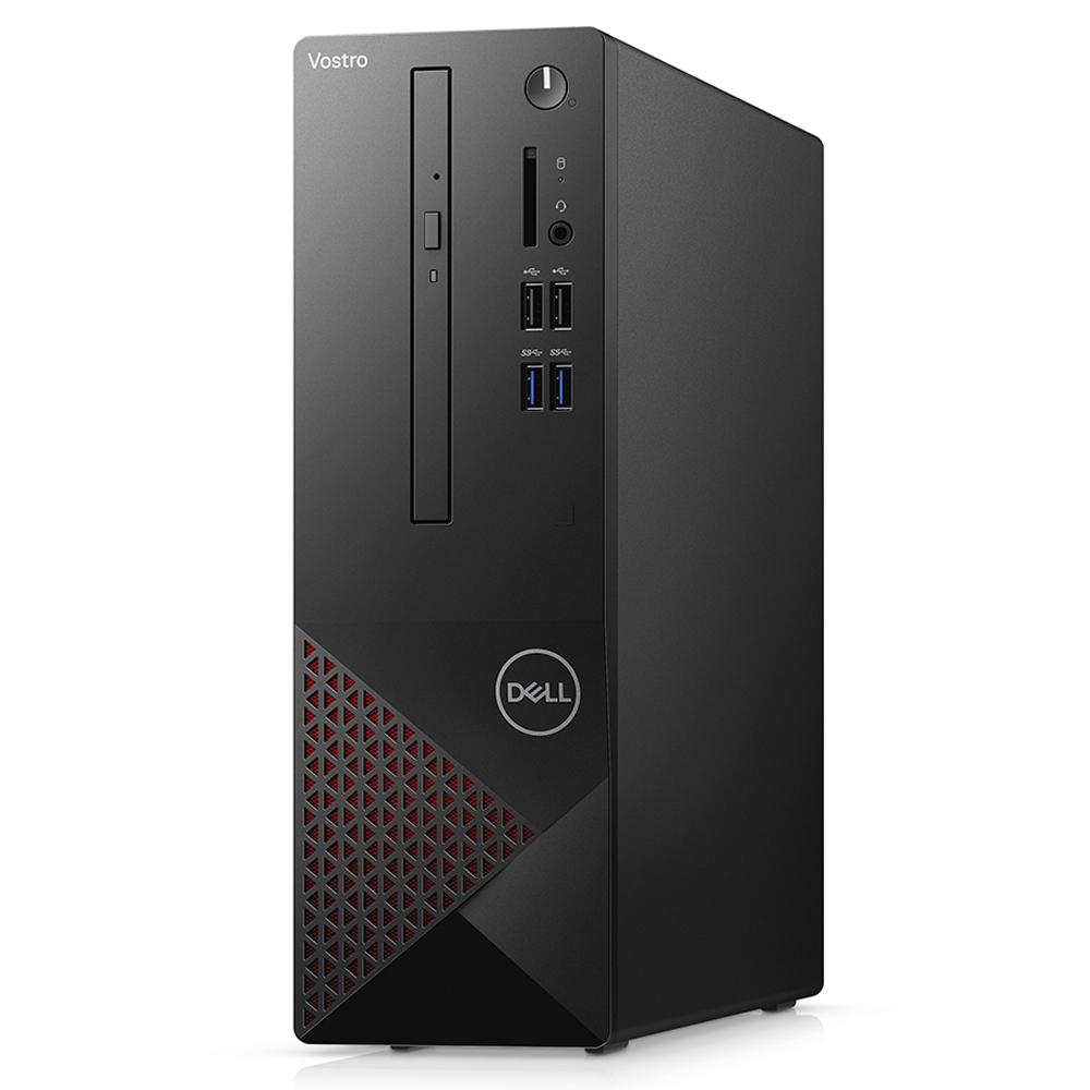 Computador Dell Vostro 3681 Sff Core I3-10100 Memória 4gb Ssd 256gb Wifi Dvd Linux