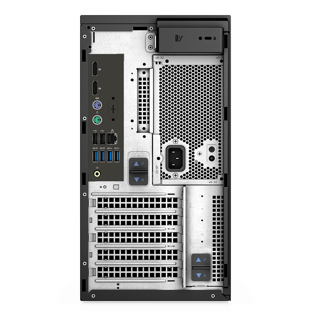 Computador Dell Workstation Precision 3640 Intel Xeon W-1250 Mem 16gb Ddr4 Ssd 256gb Dvd Quadro P2200 5gb Win 10 Pro