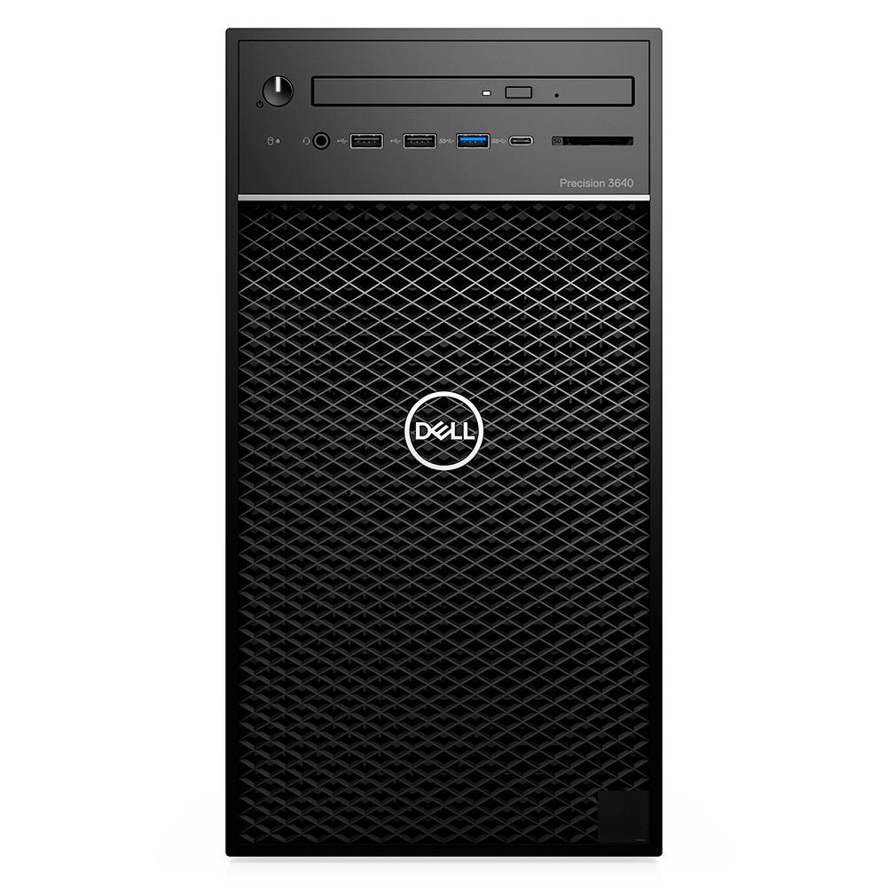 Computador Dell Workstation Precision 3640 Intel Xeon W-1270 16gb Ddr4 Hd 2tb Ssd 256gb Dvd Quadro P400 5gb Win 10 Pro