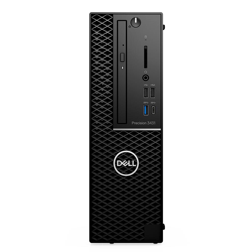 Computador Dell Workstation Precision Sff 3431 Intel Xeon E-2224g Mem. 64gb Hd 2tb Ssd 512gb Quadro P400 2gb Win 10 Pro