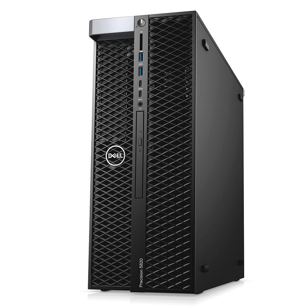 Computador Dell Workstation Precision T5820 Intel Xeon W-2145 16gb Ddr4 Ssd 256gb Dvd Quadro P2200 Windows 10 Pro