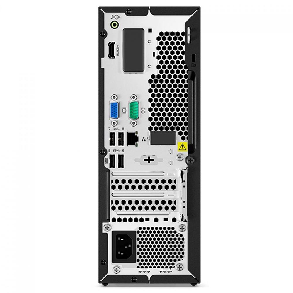 Computador Lenovo Sff V50s Core I5-10400 Memória 12gb Ssd 120gb Sistema Windows 10 Pro