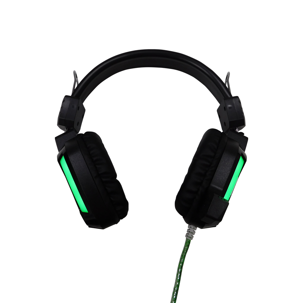 Fone De Ouvido Headset Gamer Bat X Ellent H7 Com Led Verde