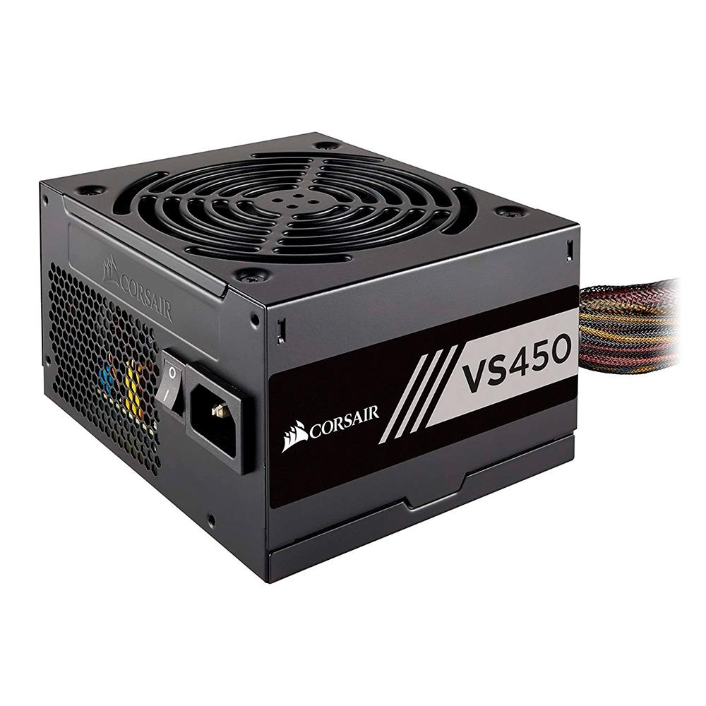 Fonte 450w Corsair 80 Plus White Vs450
