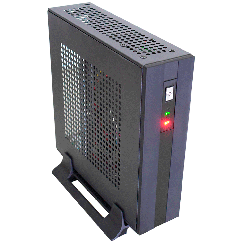 Gabinete Mini Itx Gi218ek Pc Cdia C/ Cooler