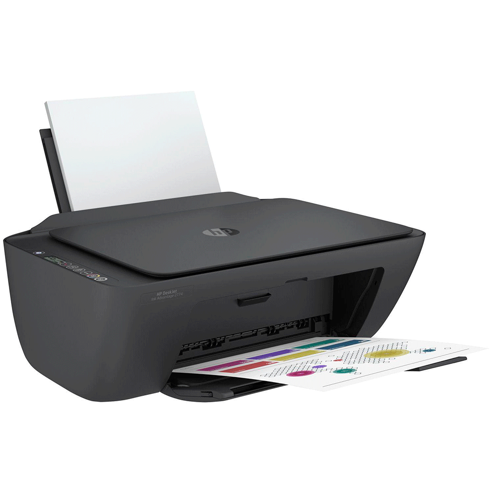 Impressora Multifuncional Hp Deskjet Ink Advantage 2774, Jato De Tinta, Colorida, Wifi, Bluetooth, Bivolt