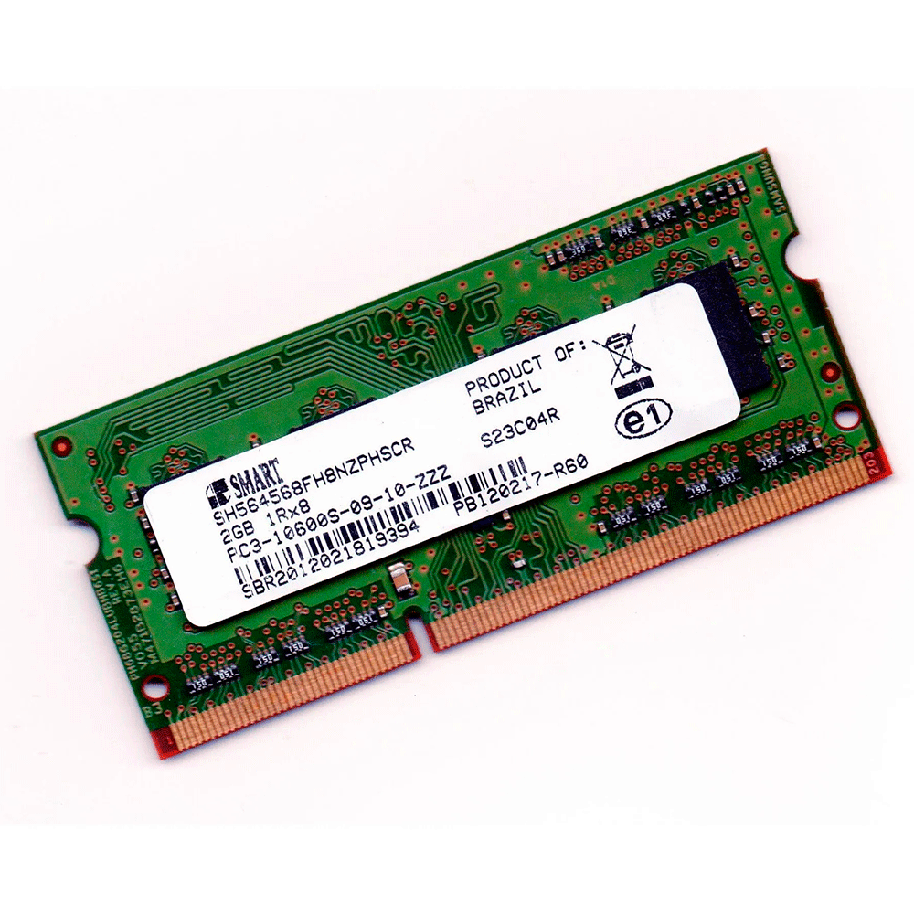 Memória Smart 2gb Ddr3 1600mhz Notebook