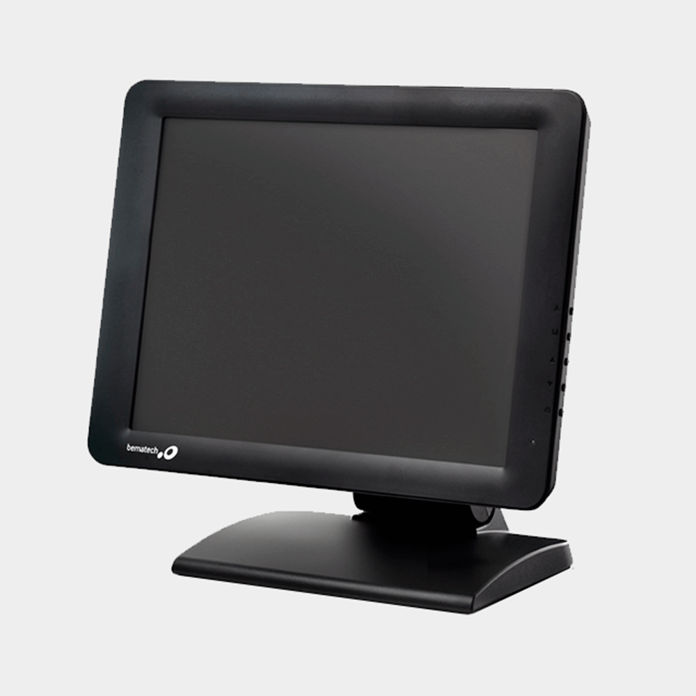 """Monitor Bematech Touch Screen Lcd 15"""" Tm-15"""