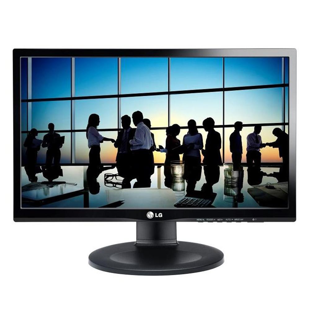 "Monitor Lg 21,5"" 22bn550y-b Full Hd Led Ips Hdmi Display Port Pivot Ajuste De Altura E Inclinação"
