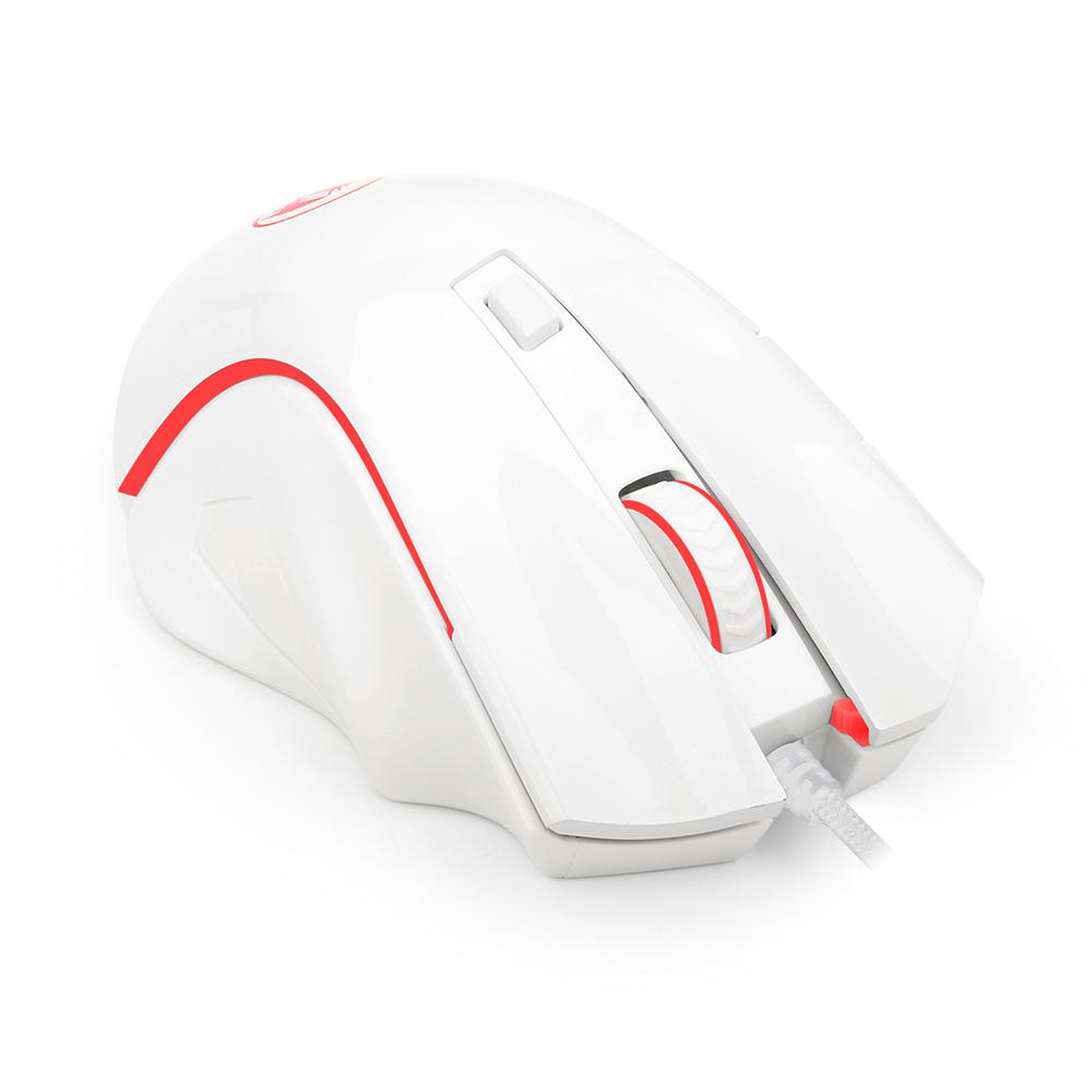 Mouse Gamer Redragon Nothosaur Branco M606W