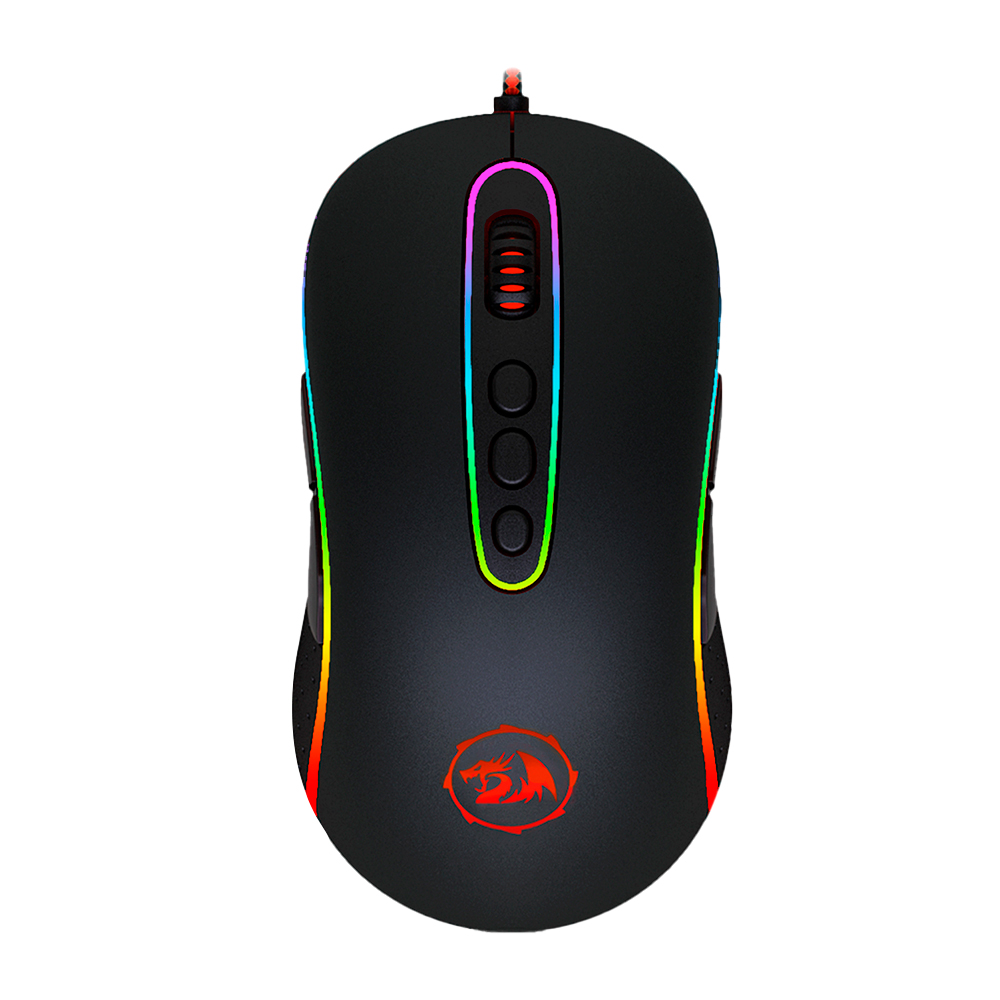 Mouse Gamer Redragon Phoenix Preto M702-2