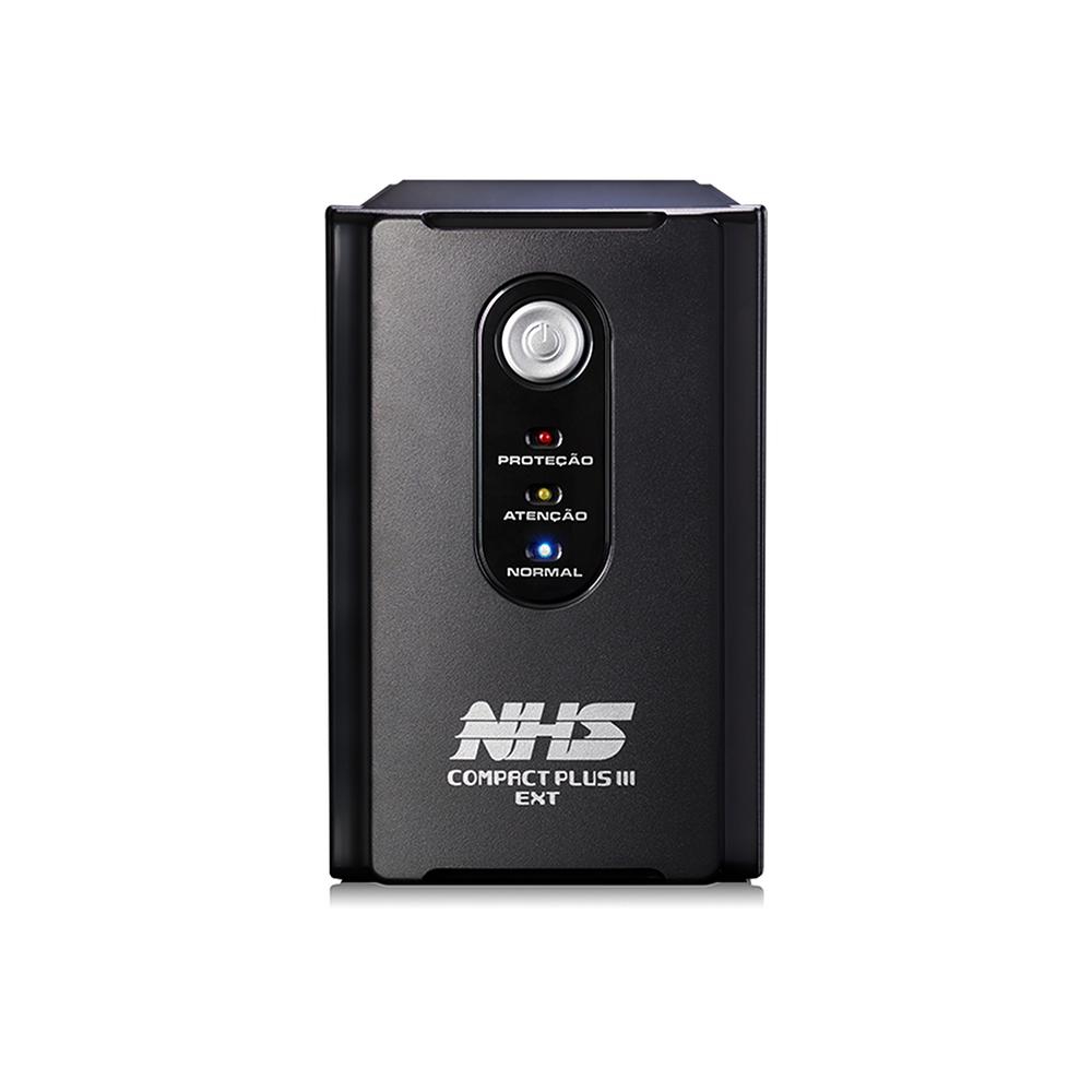 Nobreak Nhs Compact Plus Iii 1200va 600w Interactive B 2x7ah 8t E120/220 S120