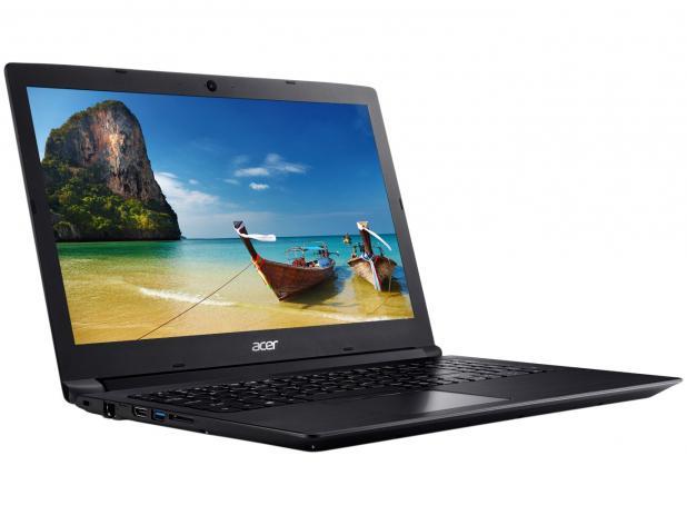 Notebook Acer A315 Core I3 7020u Memoria 4gb Hd 1tb Ssd 120gb Tela 15.6' Led Hd Sistema Windows 10 Pro
