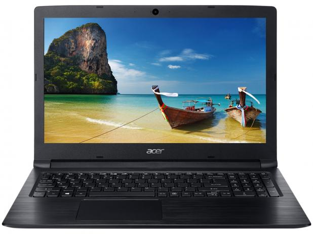 Notebook Acer A315 Core I3 7020u Memoria 8gb Ssd 480gb Tela 15.6' Led Hd Sistema Windows 10 Pro
