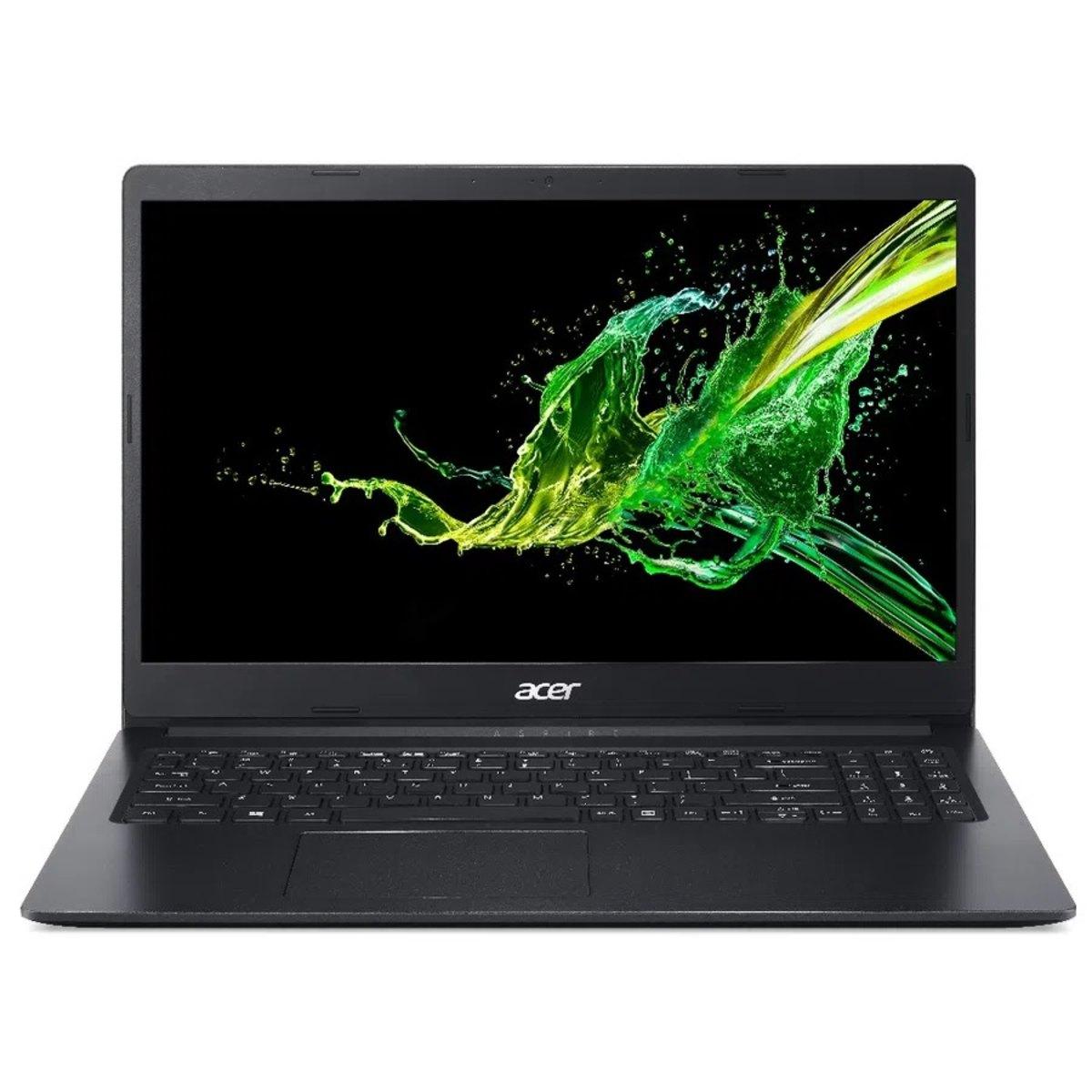 Notebook Acer A315 Intel Celeron N4000 Memoria 4gb Hd 1tb Tela 15.6' Hd Windows 10 Pro Outlet