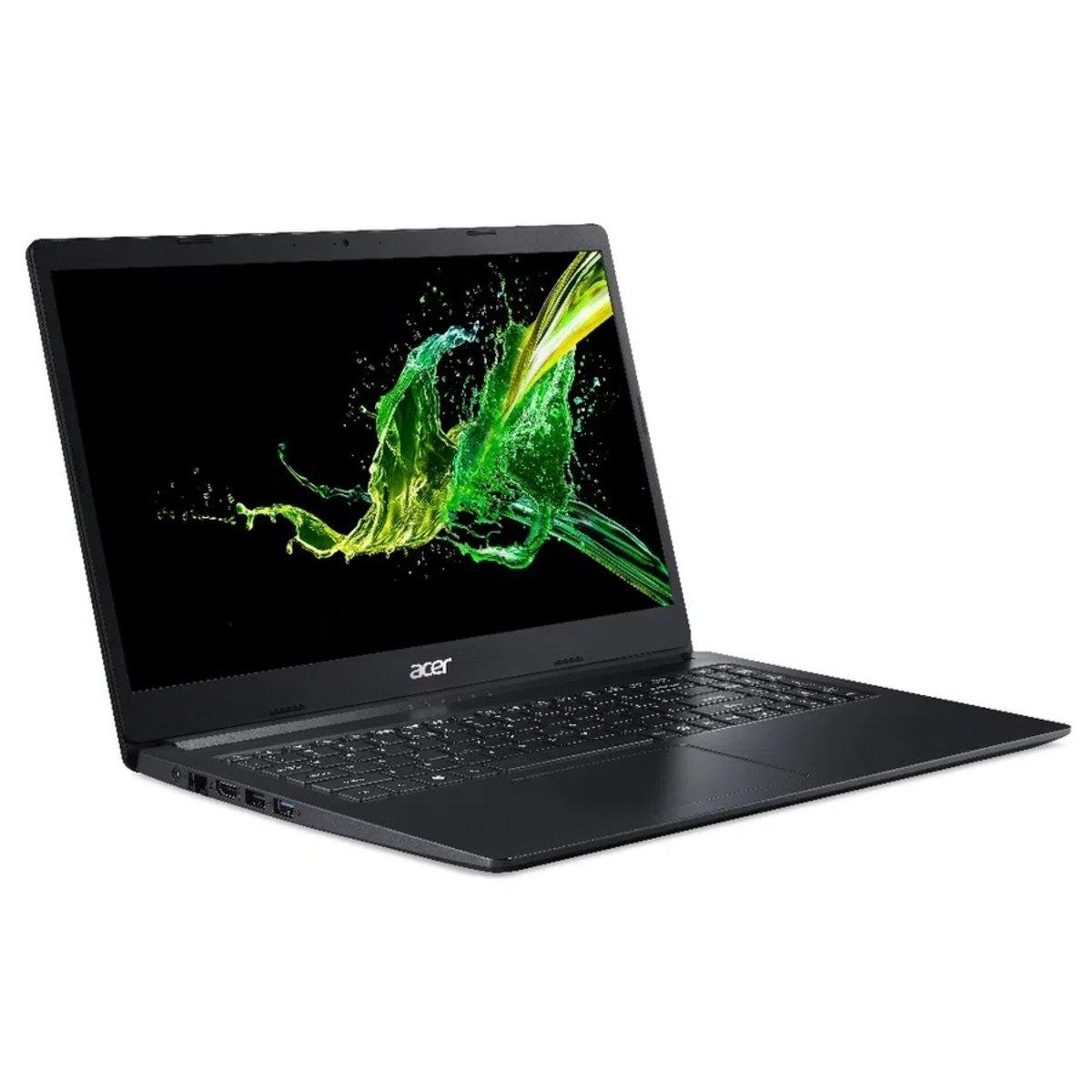 Notebook Acer A315 Intel Celeron N4000 Memoria 8gb Hd 1tb Tela 15.6' Hd Endless Os