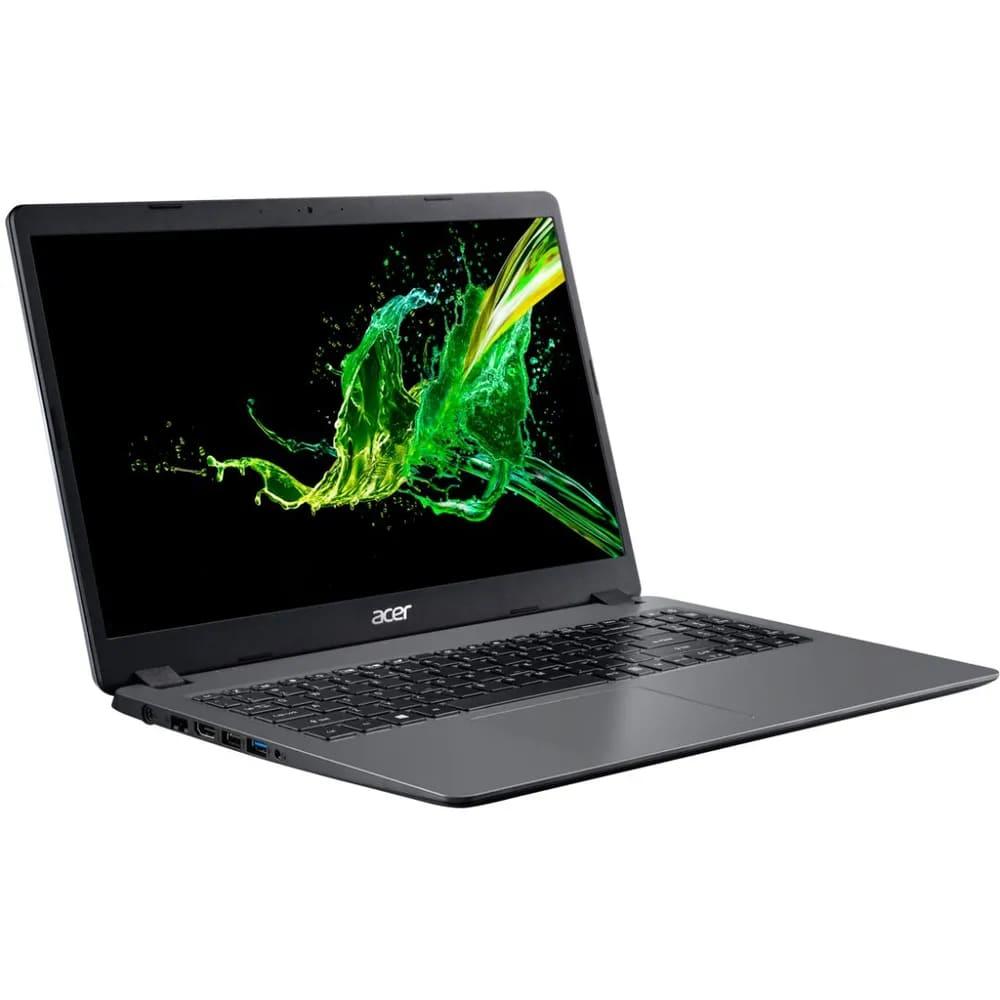 Notebook Acer A315 Intel Core I5-10210u Memoria 8gb Hd 1tb Ssd 120gb Tela 15.6' Windows 10 Home Prata
