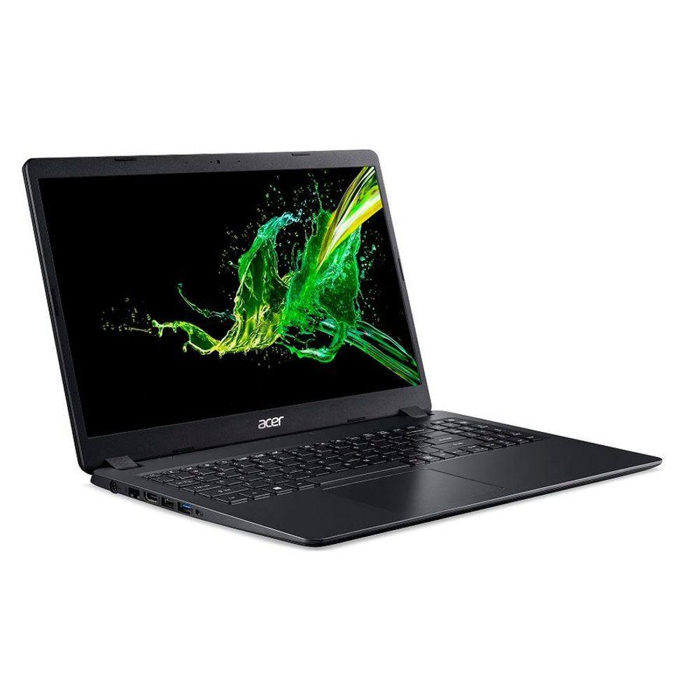 Notebook Acer A315 Ryzen 5-3500u Mem 8gb Ddr4 Ssd 240gb Placa Vídeo Radeon 540x 2gb Tela 15.6' Led Lcd Windows 10 Home