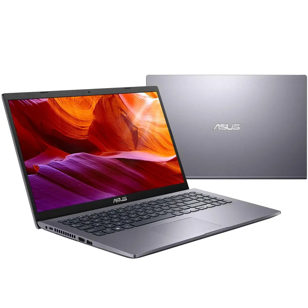 Notebook Asus M509da Ryzen 5 3500 Memoria 8gb Hd 1tb Ssd 480gb Tela 15.6'' Hd Led Vega 8 Sistema Windows 10 Home