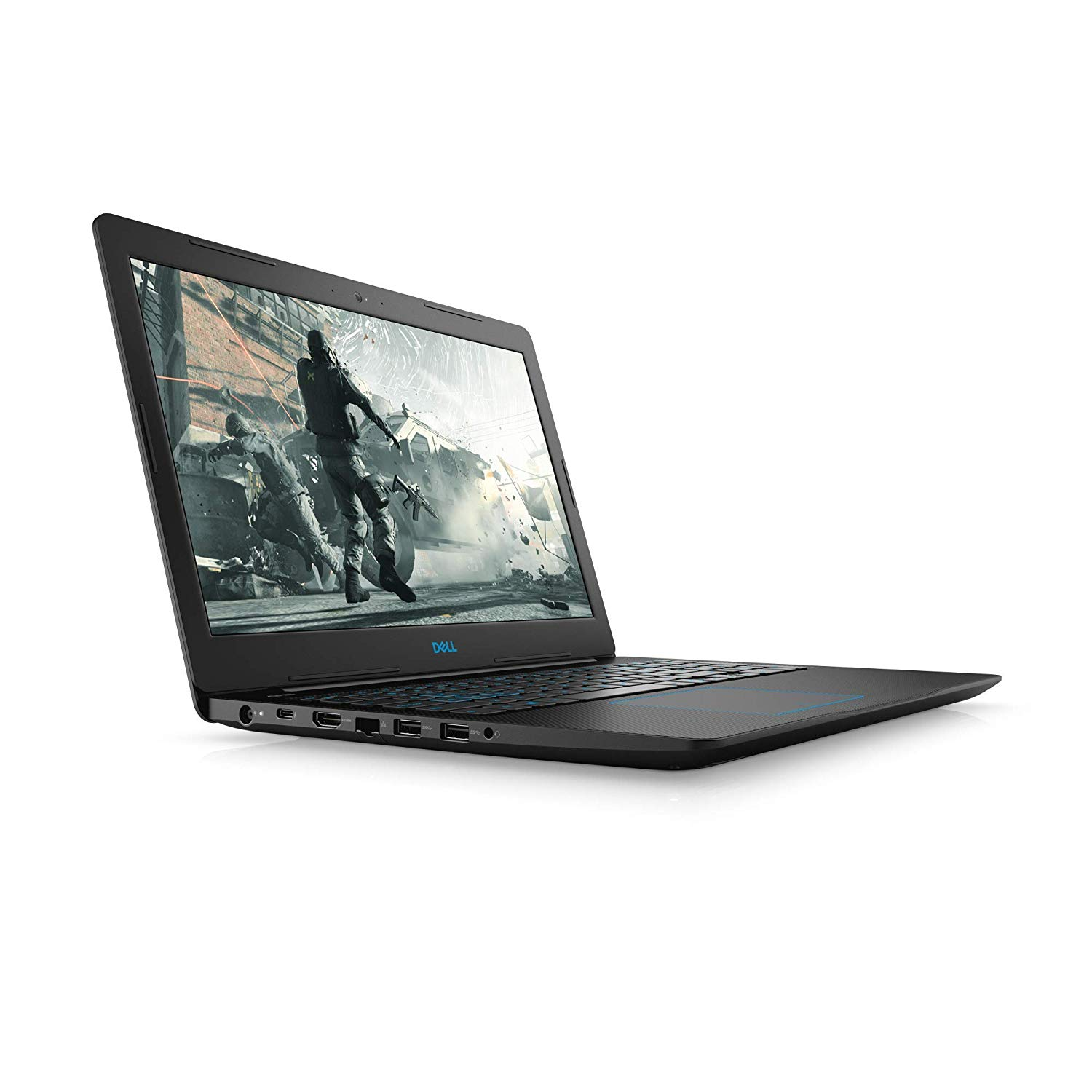 Notebook Dell G3 3579 Core I7 8750H Memoria 8Gb Hd 1Tb Placa Video Gxt1050 4Gb Tela 15.6' Fhd Sistema Linux