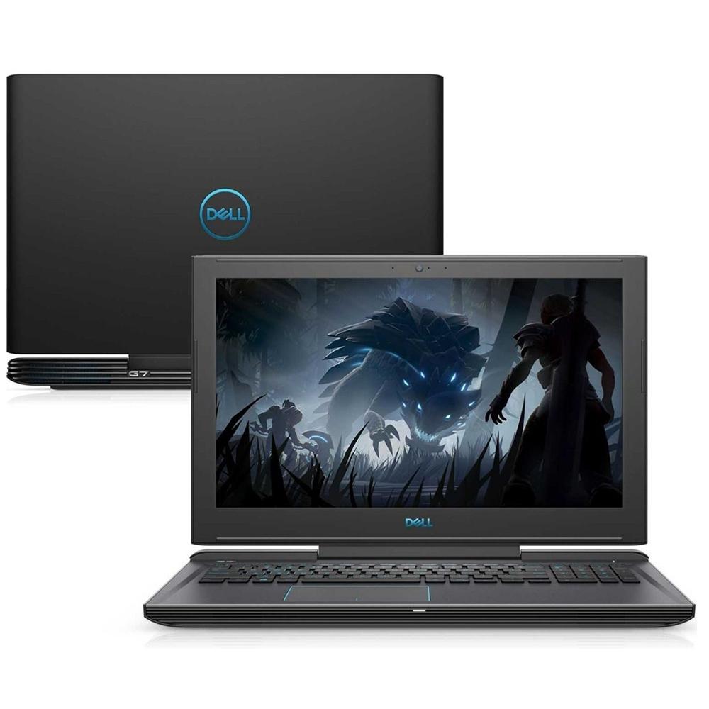 Notebook Dell G7 7588 Core I7 8750H Memoria 16Gb Hd 1Tb Ssd 256Gb Placa Video 1060 6Gb Tela 15.6' Fhd Windows 10 Home