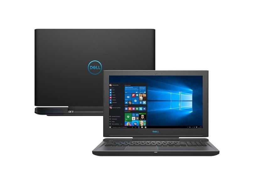Notebook Dell Gaming G7 7588 Core I5 8300H Memoria 8Gb Hd 1Tb Placa Video Gtx 1050 4Gb Tela 15.6' Windows 10 Home