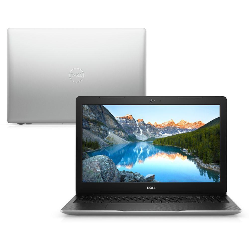 Notebook Dell Inspiron 3480 Pentium Gold 5405u Memoria 4gb Ssd 256gb Tela 15.6' Led Hd Sistema Linux Prata