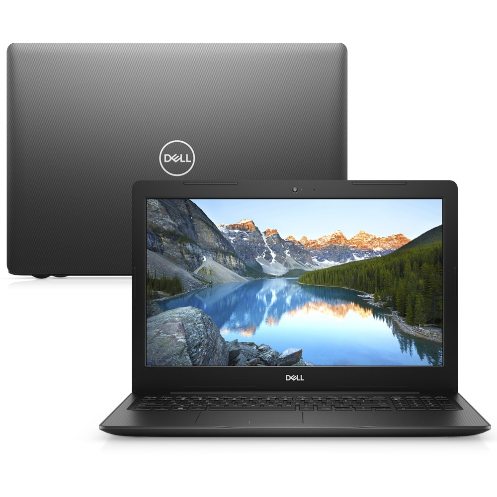 Notebook Dell Inspiron 3583 Core I5 8265u Memoria 12gb Hd 1tb Ssd 240gb Tela 15.6' Led Hd Sistema Windows 10 Pro