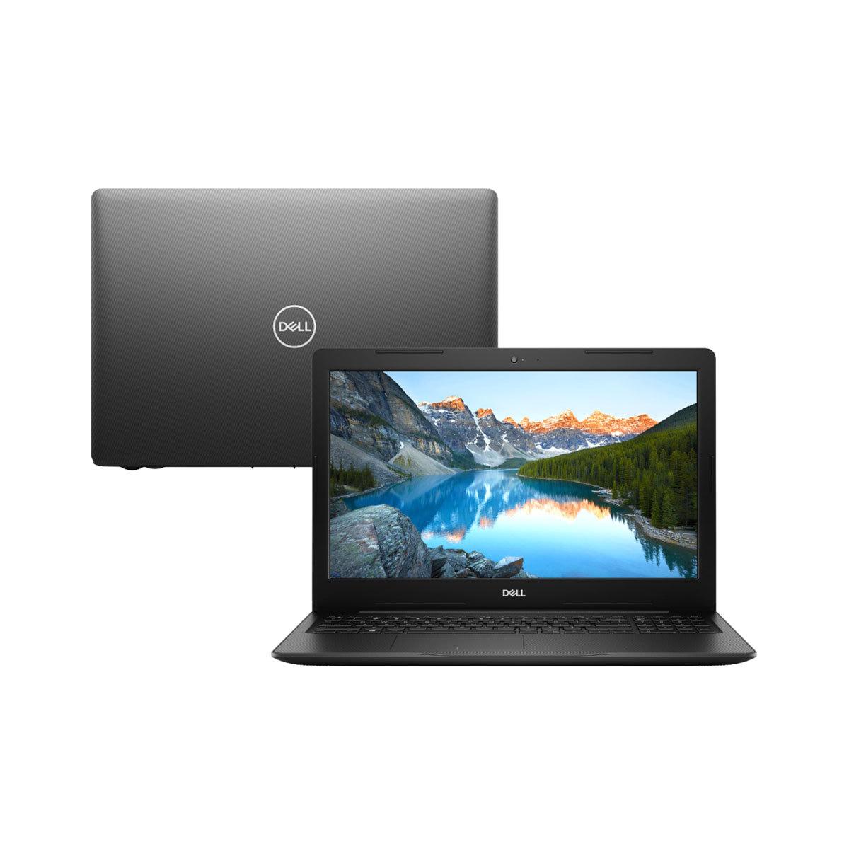Notebook Dell Inspiron 3583 Core I7 8565u Memoria 8gb Ssd 256gb Video Radeon 520 2gb Tela 15.6 Hd Windows 10 Home