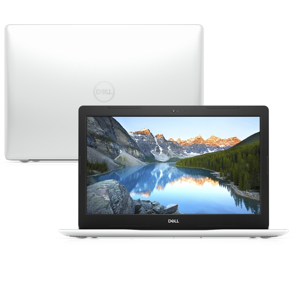 Notebook Dell Inspiron 3584 Core I3 8130u Memoria 4gb Ssd 128gb Tela Led 15.6' Fhd Sistema Windows 10 Home Branco