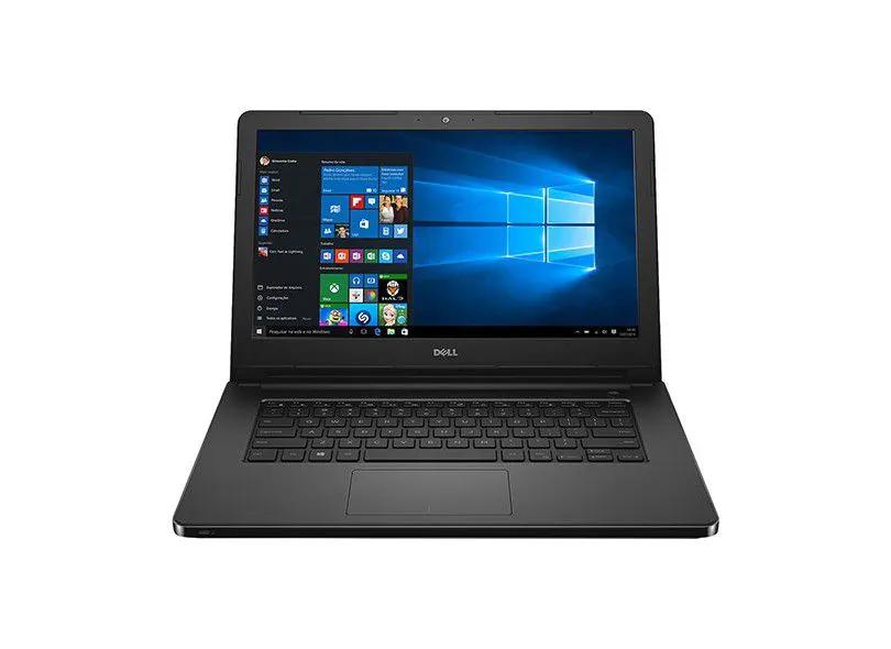 Notebook Dell Inspiron 5458 Core I5 5200U Memoria 4Gb Hd 1Tb Gravador Dvd Tela 14' Lcd Sistema Windows 10 Home