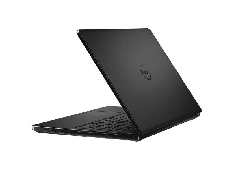 Notebook Dell Inspiron 5566 Core I5 7200U Memoria 4Gb Hd 1Tb Tela 15.6' Led Lcd Sistema Windows 10 Home