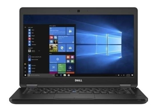 Notebook Dell Latitude 5490 Core I7 8650U Memoria 16Gb Hd 500Gb Tela 14' Fhd Sistema Windows 10 Pro