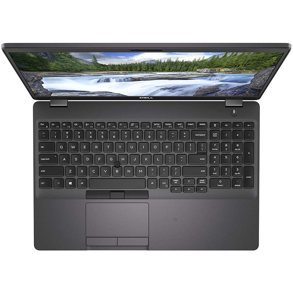 Notebook Dell Latitude 5501 Core I7-9850h Memoria 16g Hd 1tb Ssd 256gb Tela 15,6'' Fhd Sistema Windows 10 Pro