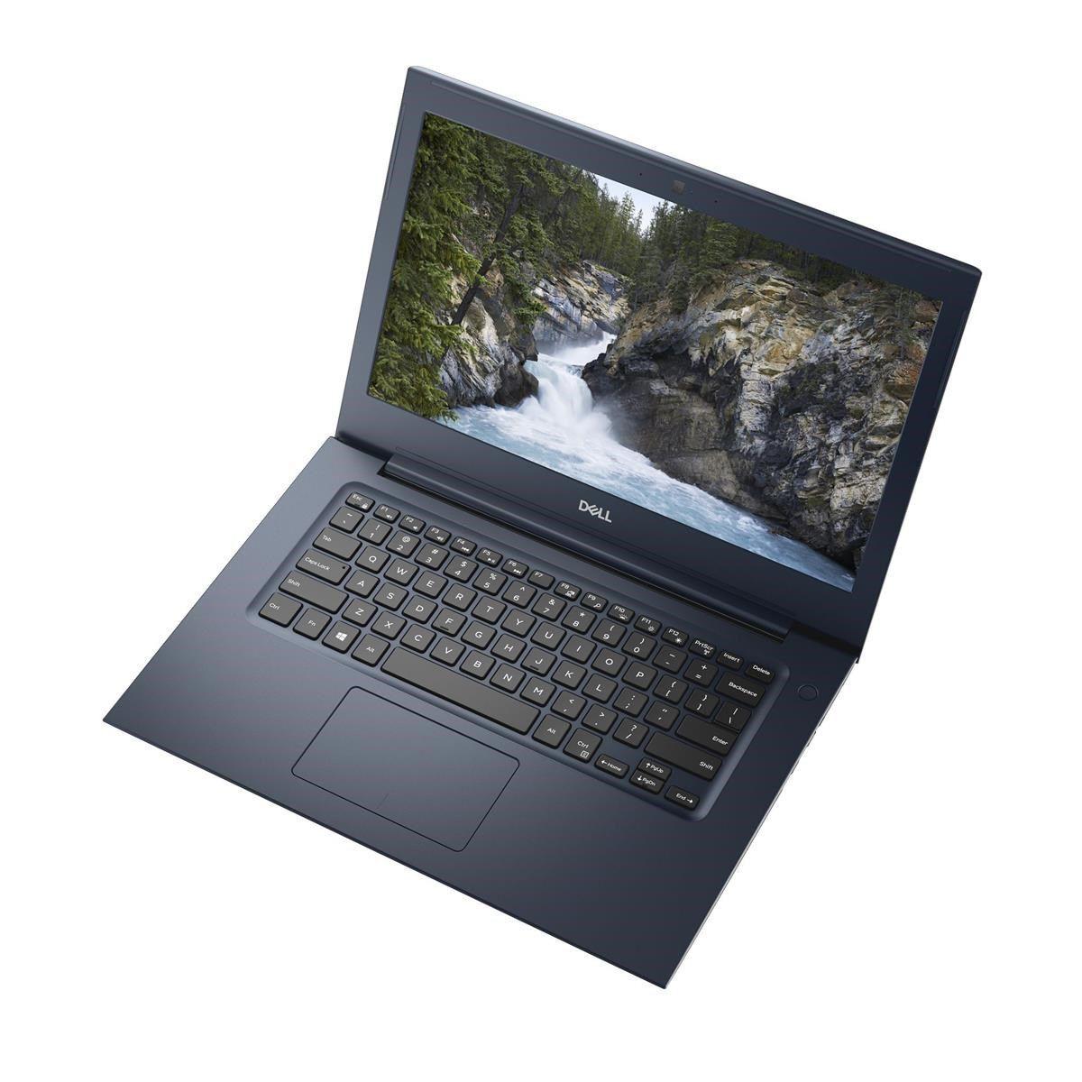 Notebook Dell Vostro 5471 Core I7 8550U Memoria 8Gb Hd Ssd 256Gb Placa Video Amd530 4Gb Tela 14 Fhd Win 10 Pro
