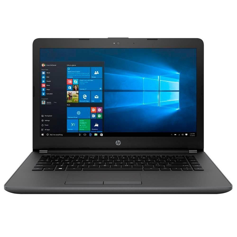 Notebook Hp 240 G6 Core I5 7200U Memoria 4Gb Hd 500Gb Tela 14' Sistema Windows 10 Pro