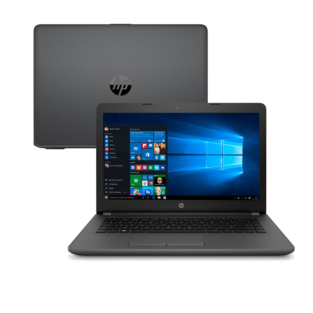 Notebook Hp 246 G6 Core I3 7020u Memoria 4gb Hd 500gb Tela Led 14' Sistema Windows 10 Home