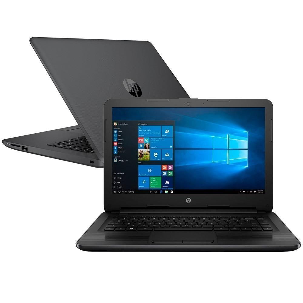Notebook Hp 246 G6 Core I5 7200U Memoria 4Gb Hd 1Tb Tela 14' Lcd Sistema Windows 10 Home