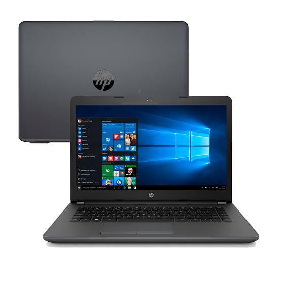 Notebook Hp 246 G6 Core I5 7200U Memoria 4Gb Hd 500Gb Ssd 120Gb Tela 14' Sistema Windows 10 Home