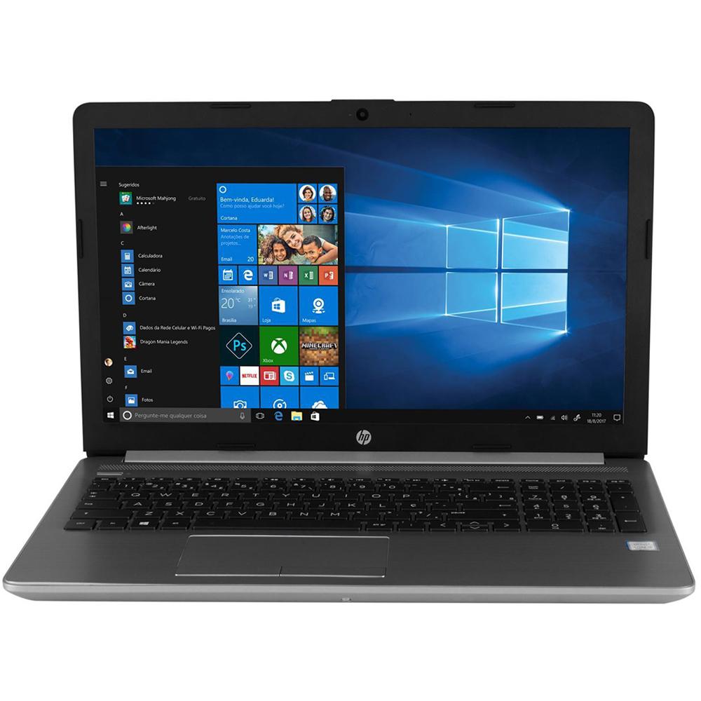 Notebook Hp 250g7 Core I5-8265u Memória 12gb Ssd 256gb Tela 15,6'' Hd Led Sistema Windows 10 Home