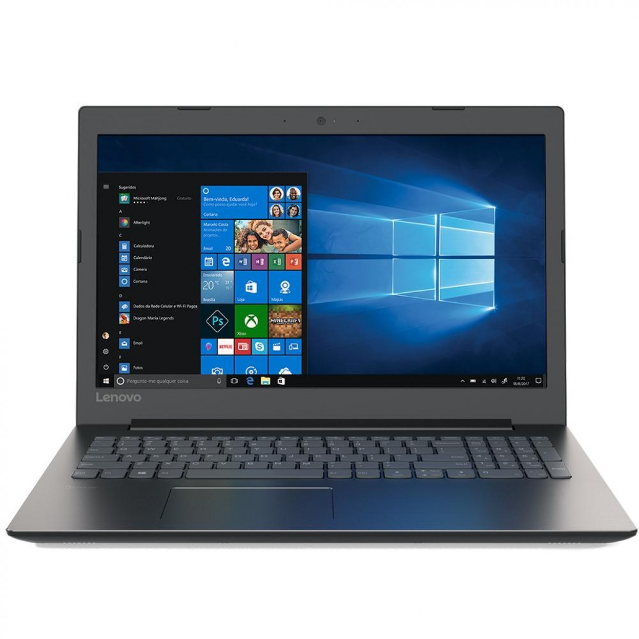Notebook Lenovo B330 Core I3 7020u Memoria 12gb Ssd 120gb Tela 15.6' Hd Windows 10 Home