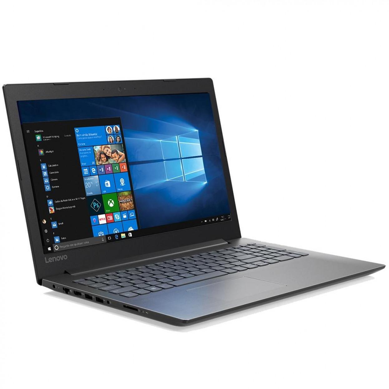 Notebook Lenovo B330 Core I5 8250u Memoria 4gb Ddr4 Hd 1tb Tela 15.6' Fhd Windows 10 Home