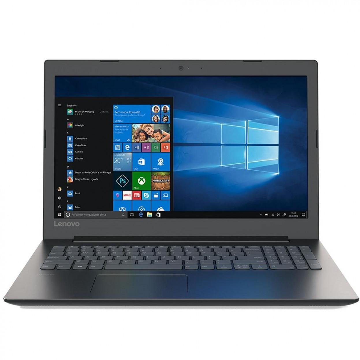 Notebook Lenovo B330 Core I5 8250u Memoria 4gb Ddr4 Ssd 120gb Tela 15.6' Fhd Windows 10 Home