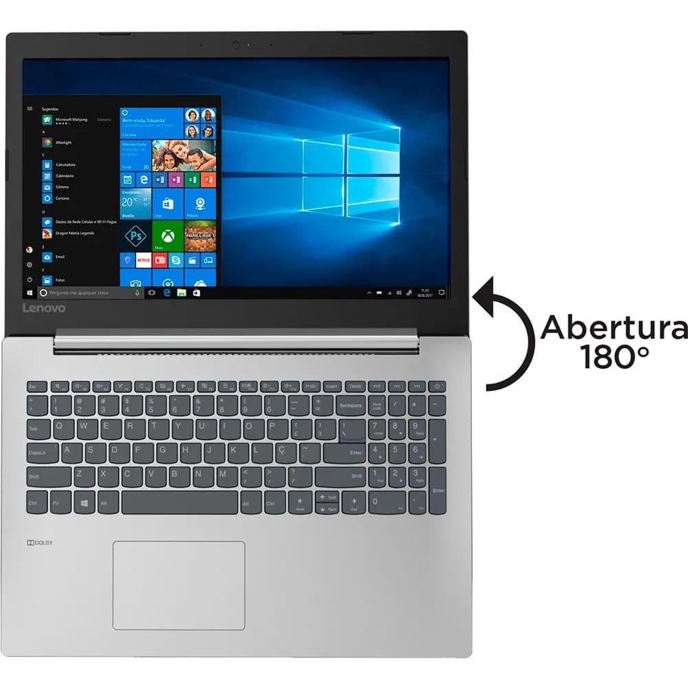 "Notebook Lenovo Ideapad 330 Intel Core I3-7020u Memoria 12gb Ddr4 Hd 1tb Tela 15,6"" Hd Sistema Windows 10 Pro"