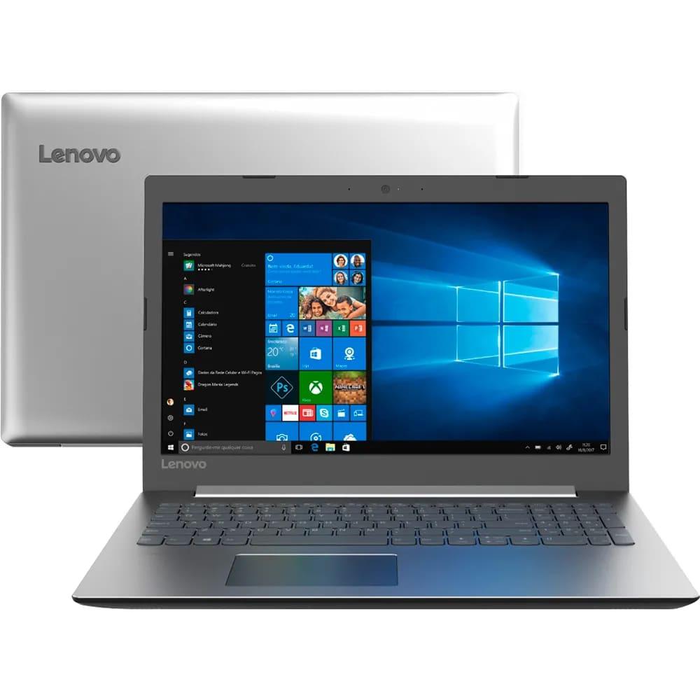 "Notebook Lenovo Ideapad 330 Intel Core I3-7020u Memoria 4gb Ddr4 Ssd 120gb Tela 15,6"" Hd Sistema Windows 10 Pro"